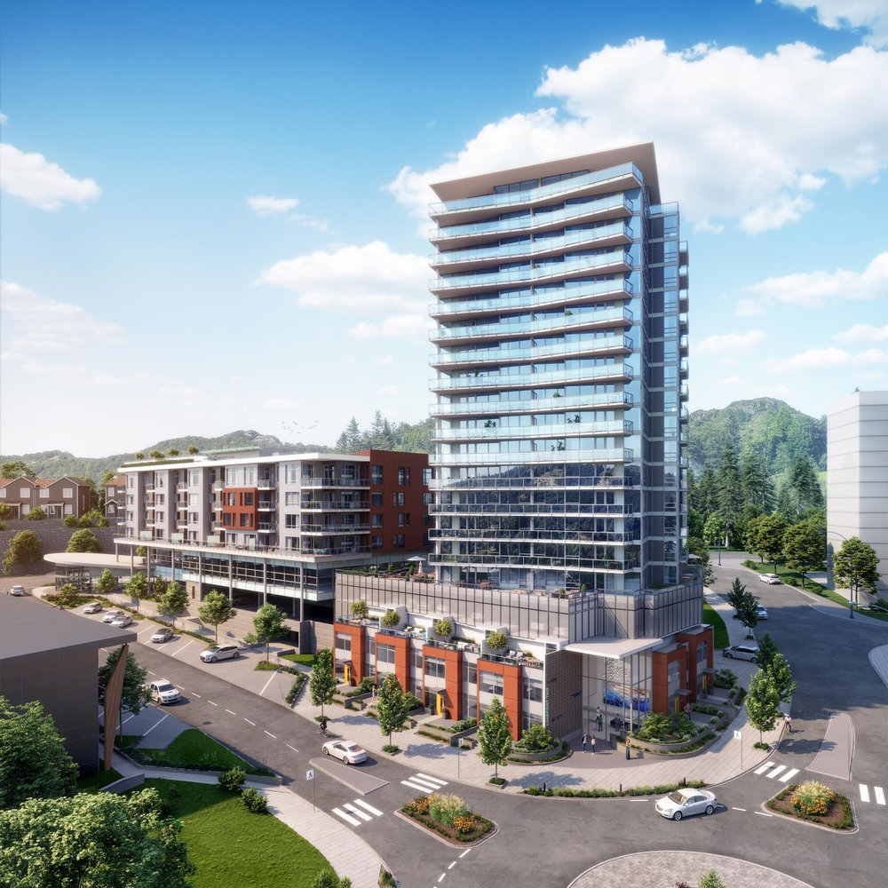Lakepoint  Residences and Commercial Langford, BC 2018