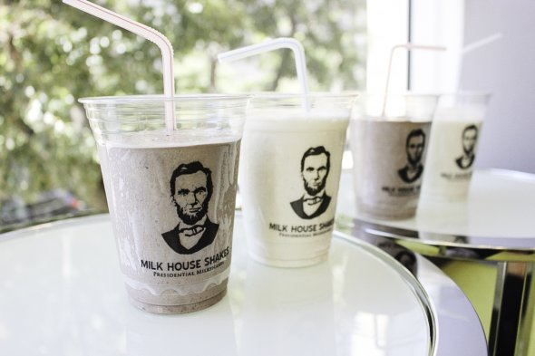 For the love of Abe and Milkshakes - Milk House Shakes