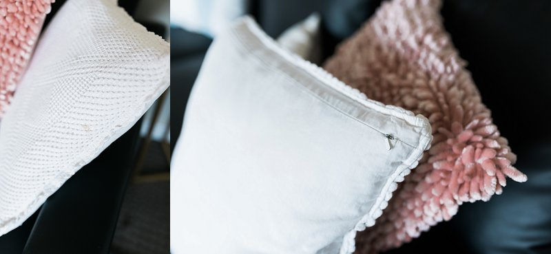 Throw Pillows with Removable Covers