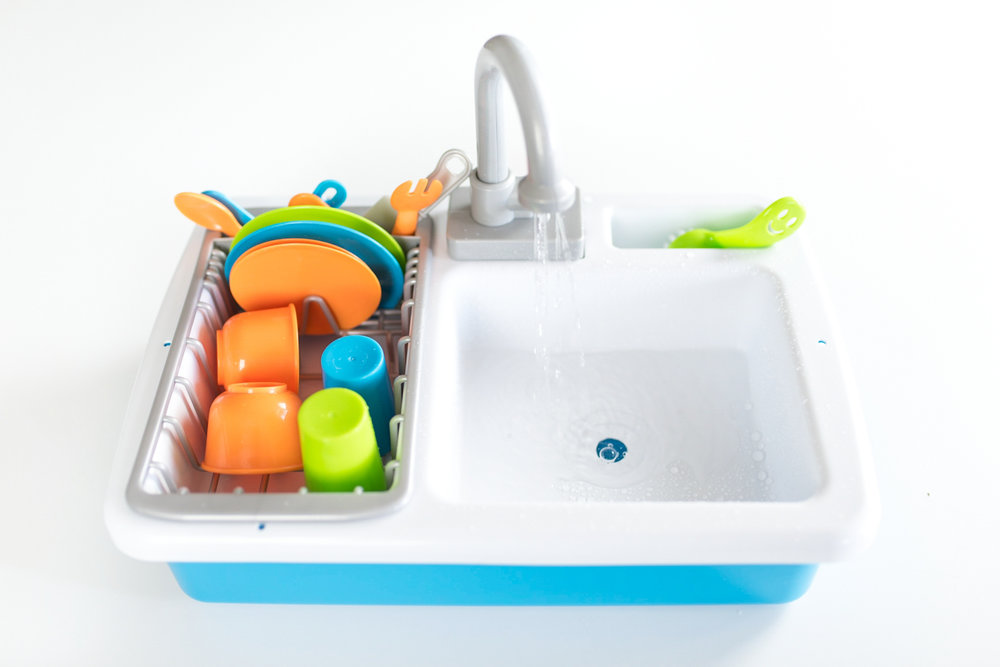 Toy Kitchen Sink with Working Faucet!!! — Kati Ann