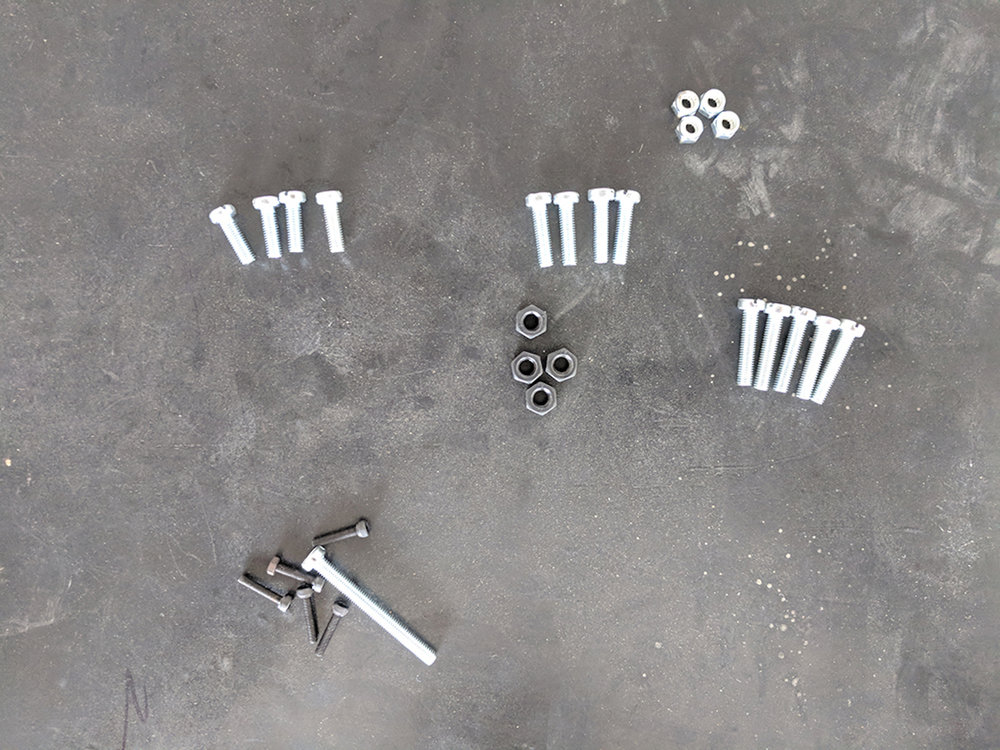 (For all the people buying screws in Merida:  PTB   is the ONLY place that will sell M3 screws and nuts!!)