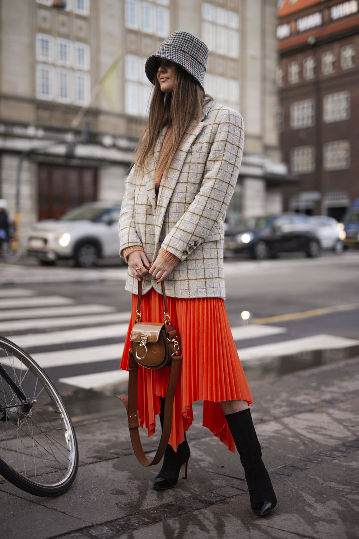 Fillippa Hagg on the streets of Copenhagen during Fashion Week Streetstyle