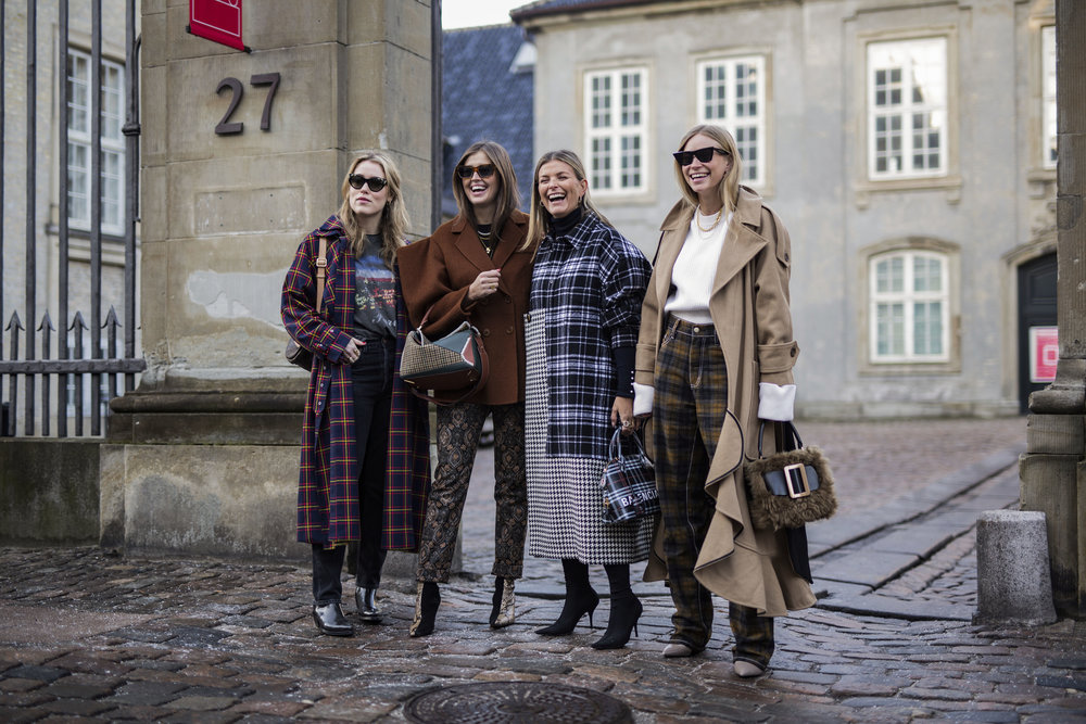 Best Streetstyle during Copenhagen Fashion Week, day one. The Scandinavian girls, Annabel, Tine Andrea, Polliani and Darja Barannik rocking it during Copenhagen