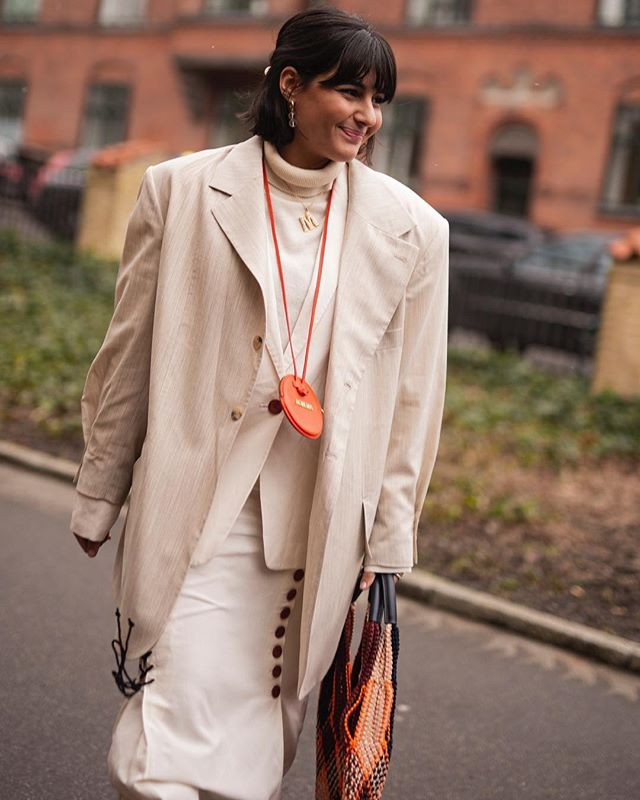 @maria_bernad before @bymalenebirger during Copenhagen Fashion Week @cphfw #copenhagenfashionweek #cphfw