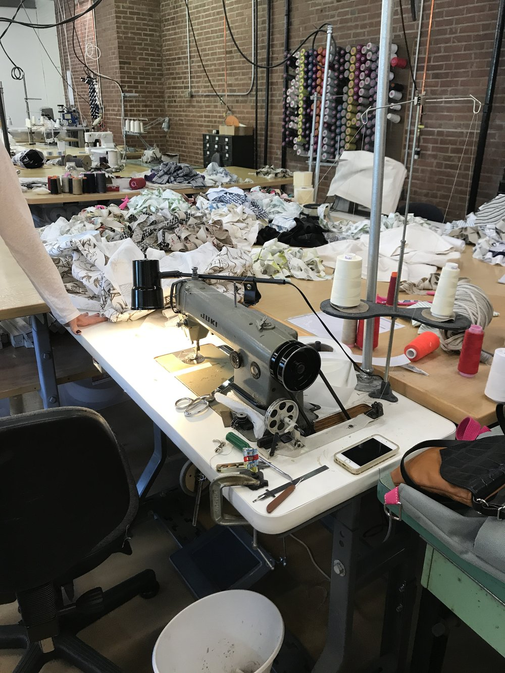 Sew Co. Sewing Room