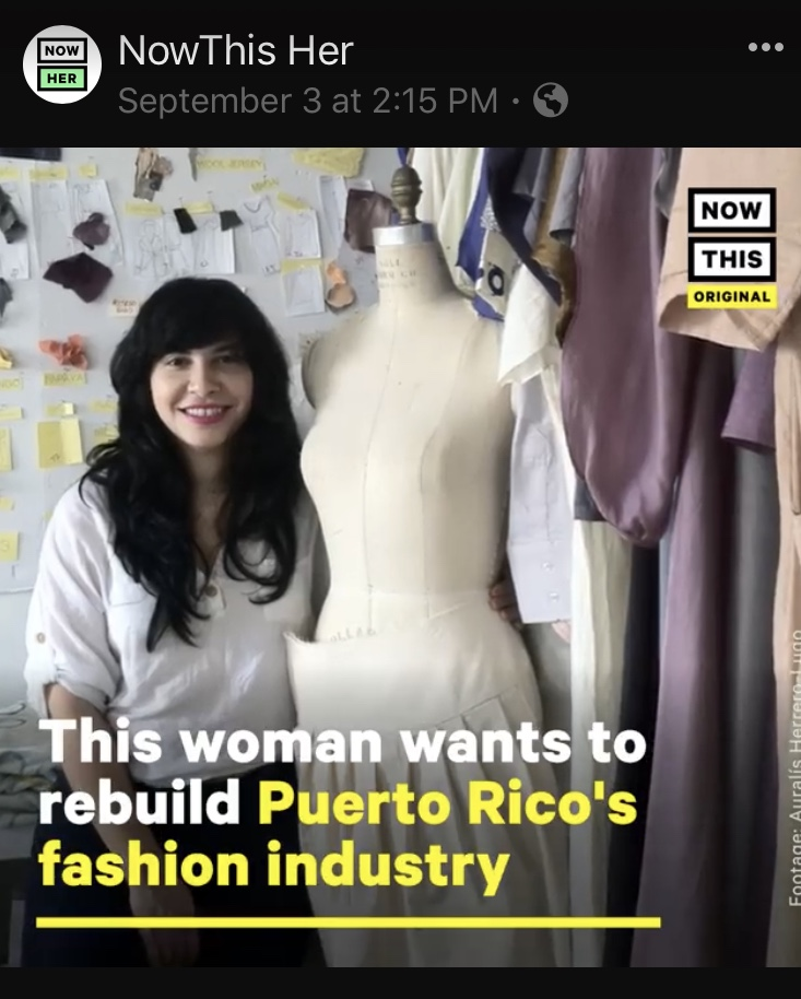 Now This Her : This woman wants to rebuild the Puerto Rico's fashion industry