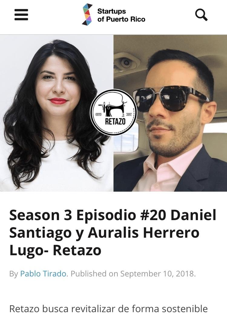 Copy of Start Ups Puerto Rico: Empresarios Con Pablo Tirado