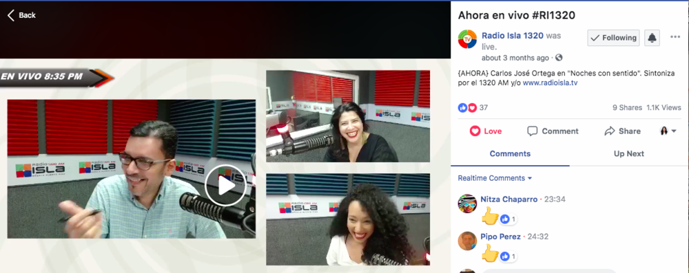 Radio Isla: Noches con Sentido
