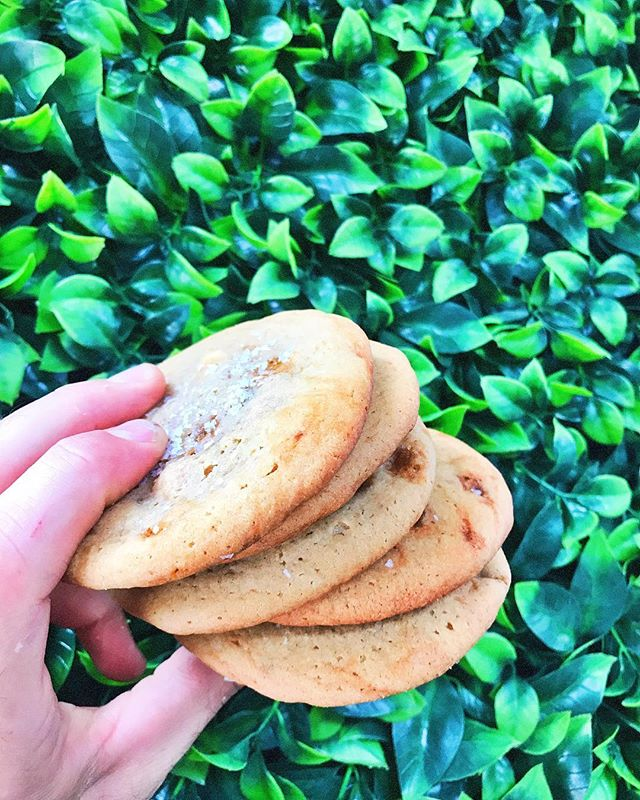 Cookie of the week - salted caramel crunch 🍪🍪🍪