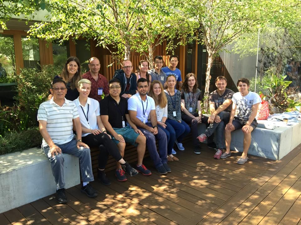 Garvan Lab photo, 2015