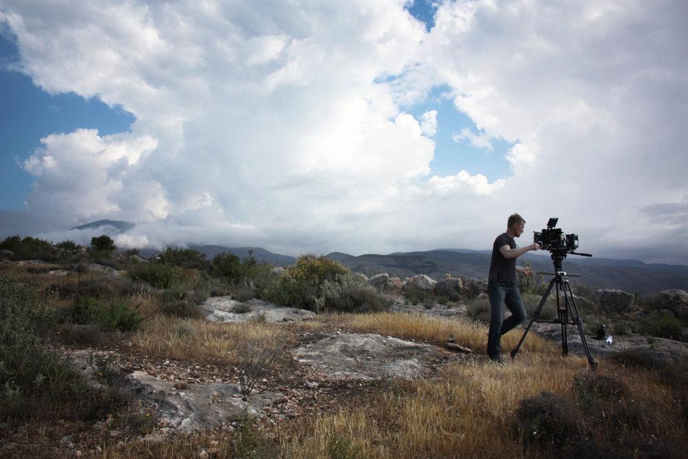 Filmning i Almeria, Spanien