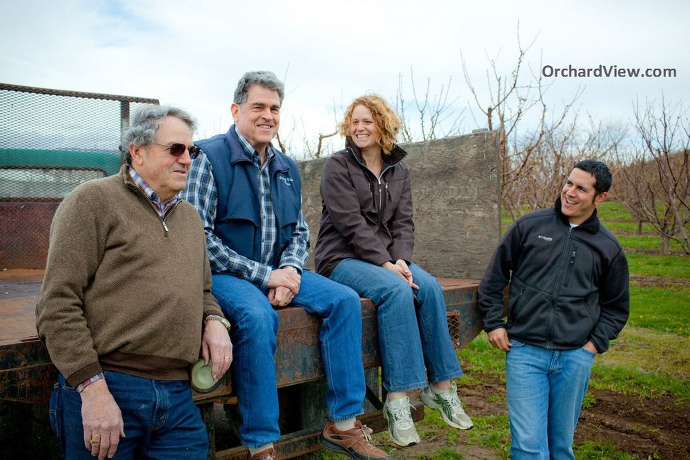 Bob Bailey, Ken Bailey, Brenda Thomas and David Ortega (Image copyright: Orchard View Inc. All rights reserved.)