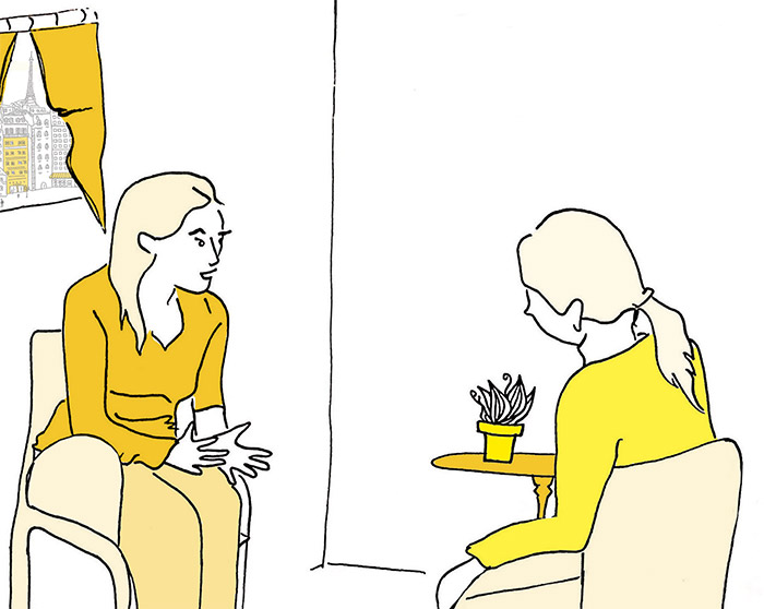 illustration : Milena Lutzker