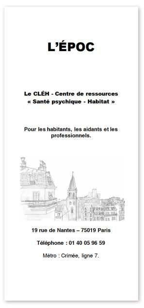 Télécharger la plaquette Le CLÉH Centre de ressources
