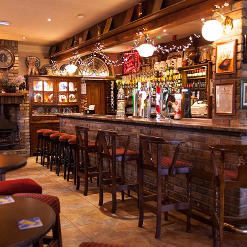 The bar -
