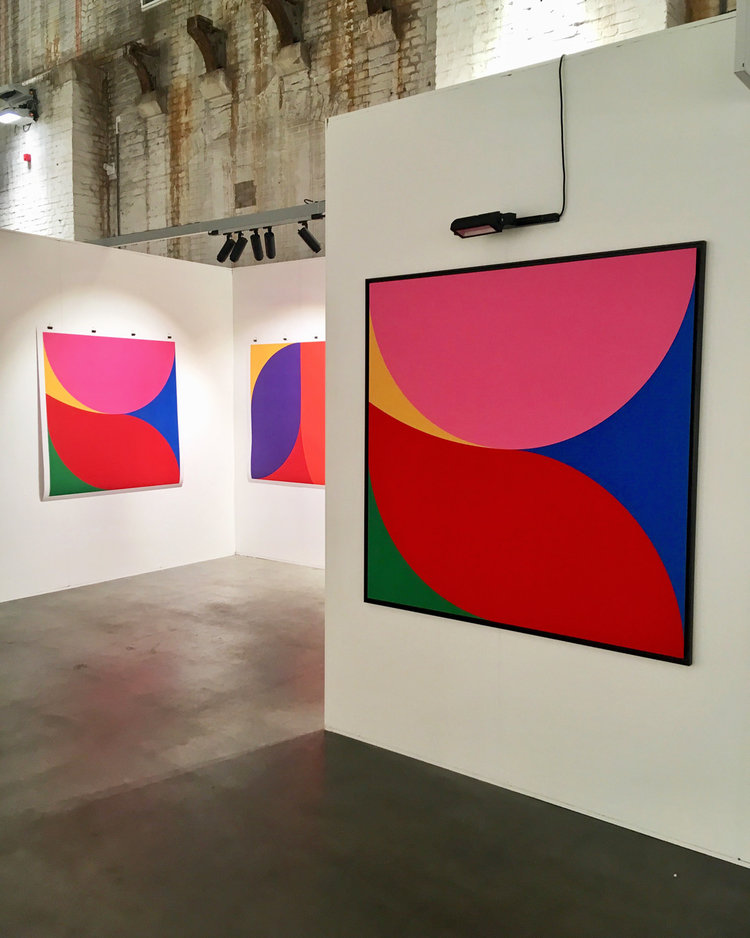 Ropp at Art on Paper 2018, Amsterdam