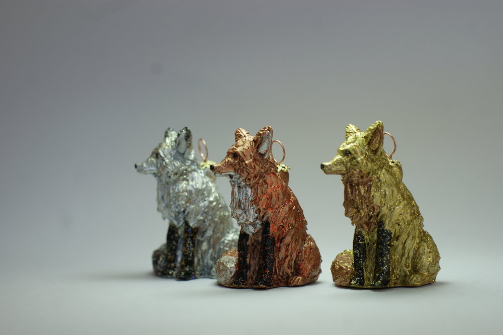 Our beautiful Foxes will sparkle in your home this Christmas.