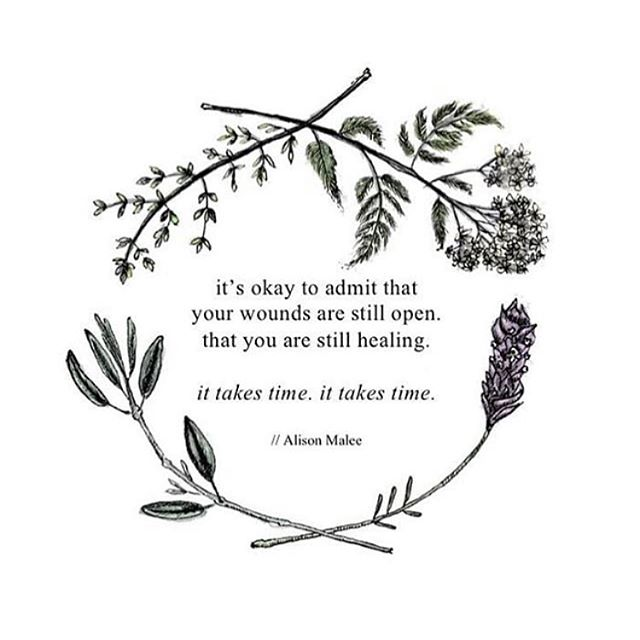 ". A beautiful reminder, especially as we head into the ""festive season"". . It's okay to still be healing, friend. . Your journey is unique to you. . Your healing is unique to you. ."