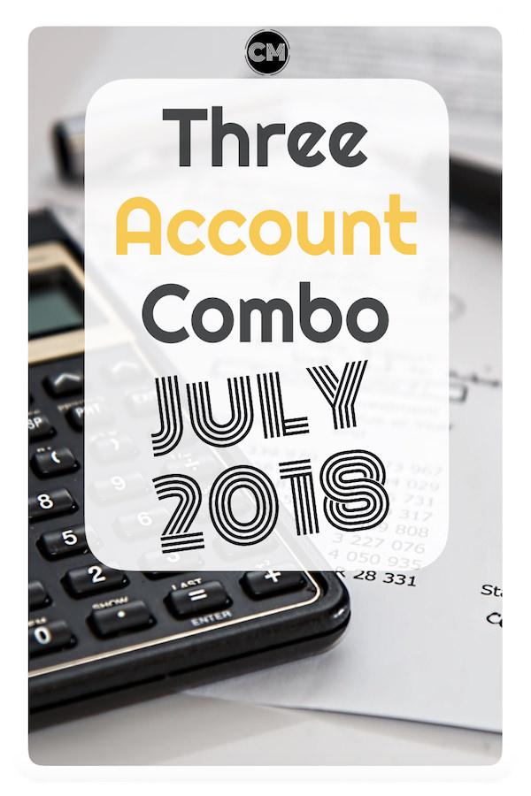 Three Account Combo - July 2018