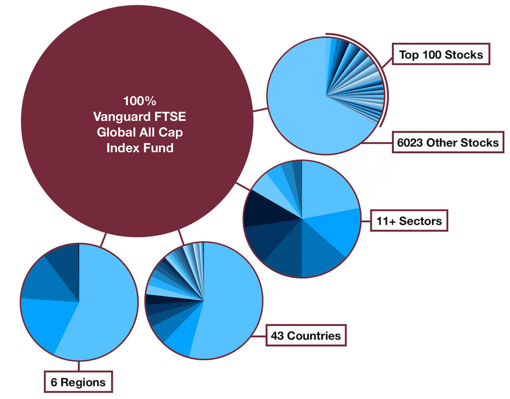 Vanguard FTSE Global All Cap Index Fund - One Fund Portfolio - Diversification
