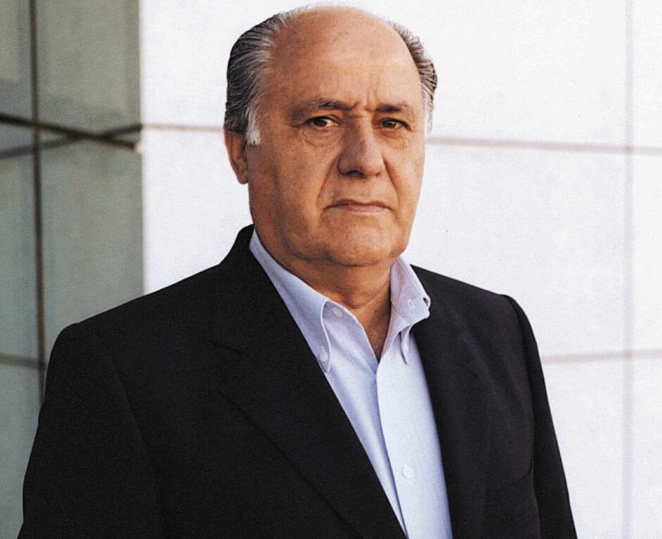 Amancio Ortega - Born: March 28th, 1936 in León, SpainNet Worth: $62.7Bn (March 2019)Co-Founder of Inditex fashion group