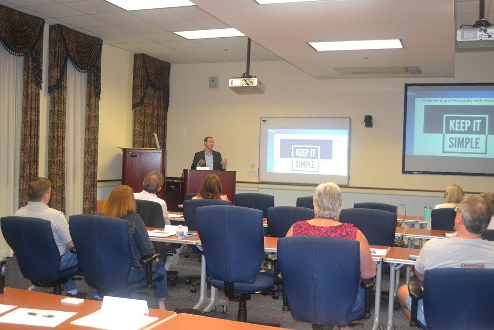 Jamei Runey Kyes Class presentation.JPG
