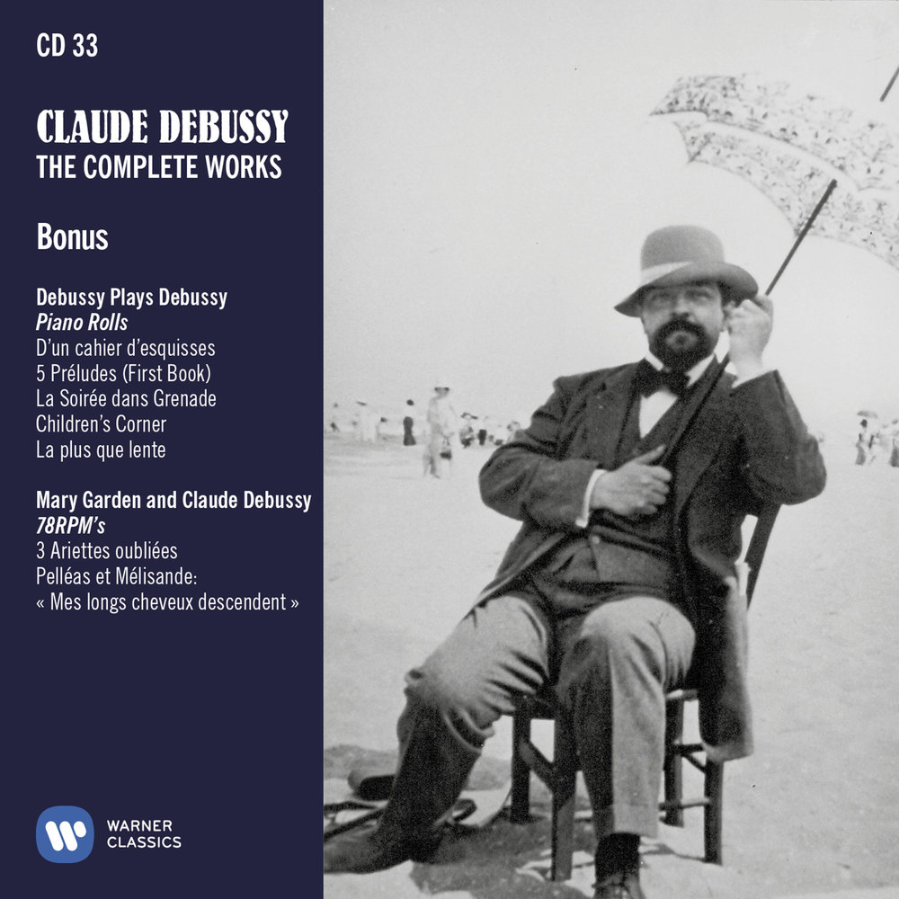 Debussy The complete works - Cover wallet CD33.jpg