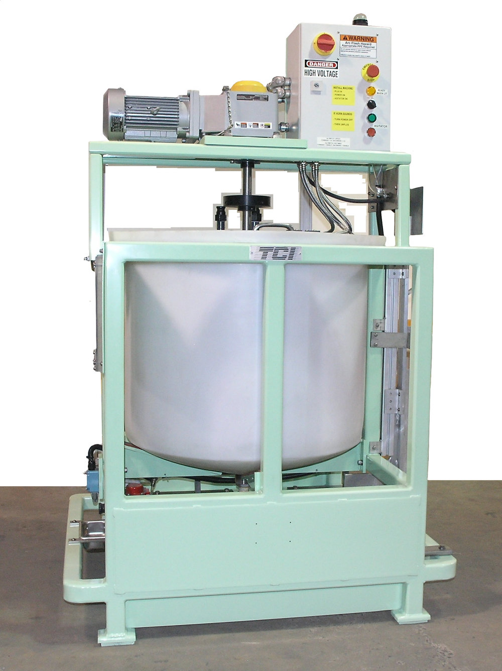 SMALL STATIONARY MIXING TANK