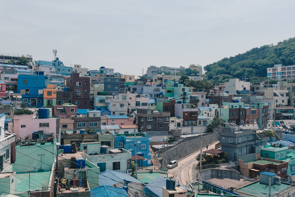 The skyline of Gamcheon Cultural Village