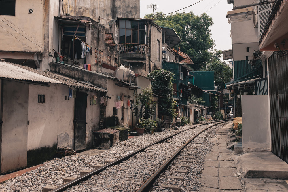 Hanoi Railway Street - Tran Phu