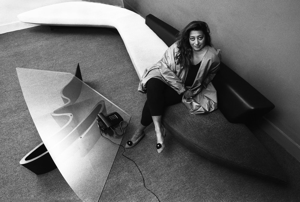 Zaha Hadid - one of the leading figures of architecture in the 21st Century, photo from WIRED