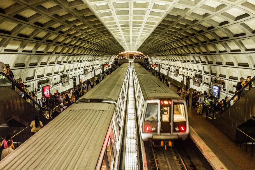 The aging infrastructure DC's inhabitants have to rely on, photo from the Architectural Lighting Magazine