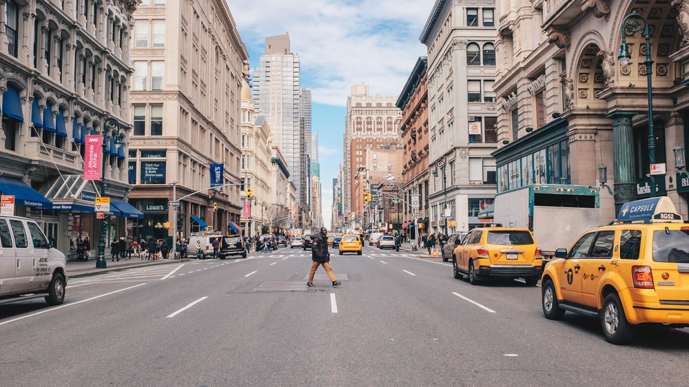 The Greatest Grid: New York City's Grid System gives the effect that almost all avenues and streets seem to stretch on forever