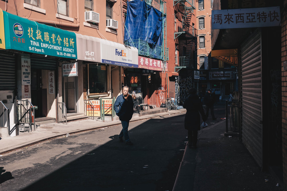 Curb your enthusiasm, Doyers St (aka The Bloody Angle) in Chinatown is perhaps one of the most famous (and bloody) streets of unplanned Manhattan