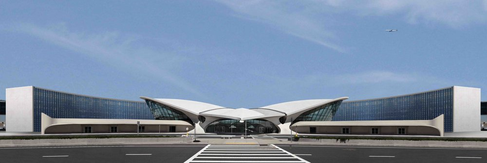 The old headhouse of the TWA Flight Center will give way to a grand hotel by 2019,  photo from MCR Development