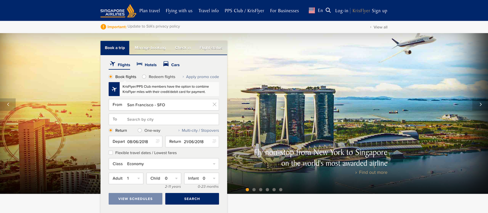 The Travelcene Guide to Singapore Airlines and SilkAir - Travelcene