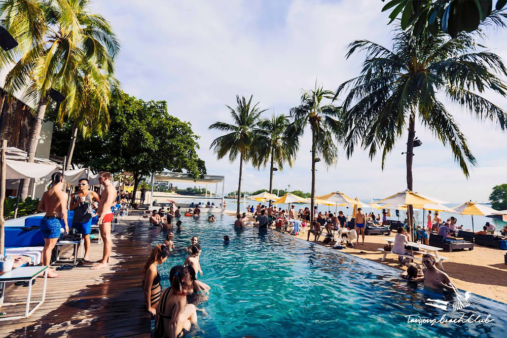 Sentosa's Tanjong Beach Club is more than just a place to hang out at, photo from Singapore Travel Guide