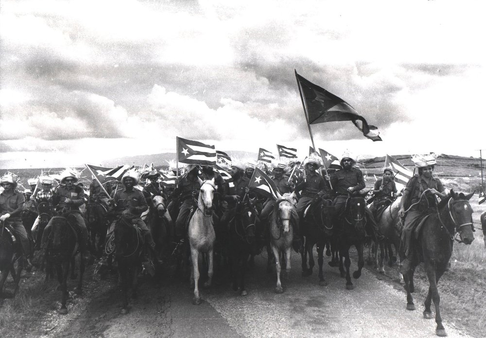 Raúl Corrales,  La caballería (Cavalry) , 1960 (Couturier Gallery, Los Angeles)