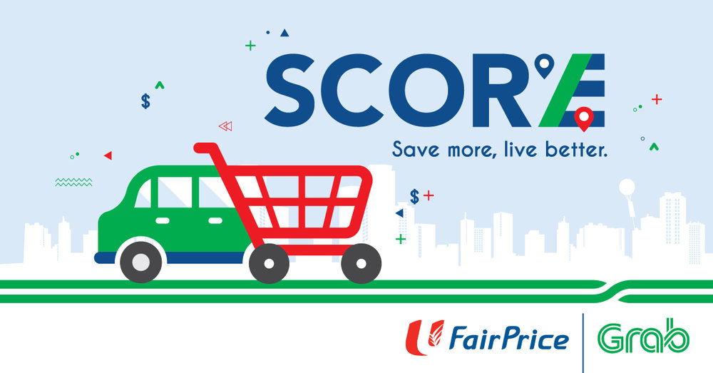 Grab partners with NTUC FairPrice to offer a combined 'lifestyle' program,  photo from Grab