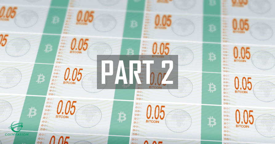 Further information about the BTC 0.01 and 0.05 notes -