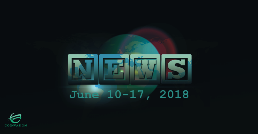 A week in a nutshell, June 10-17, 2018 -