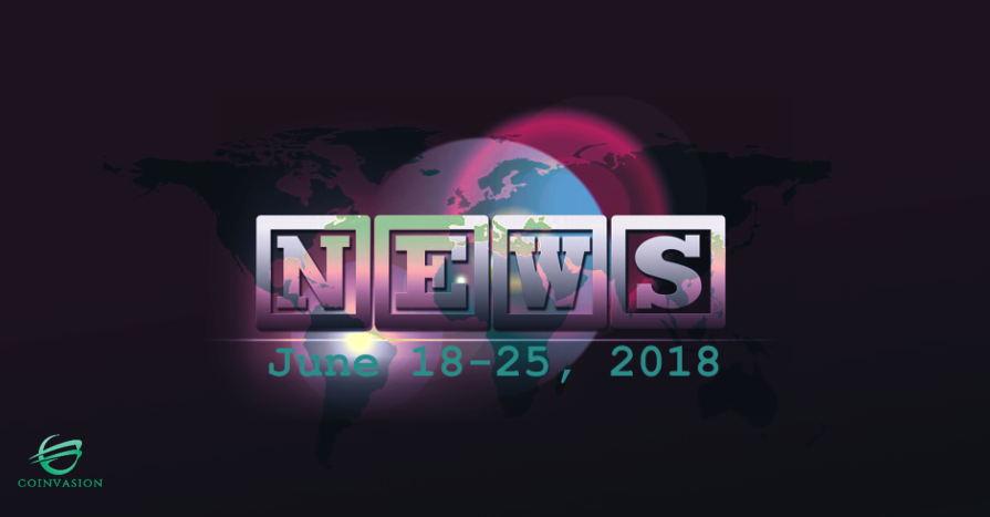 A week in a nutshell, June 18-25, 2018 -