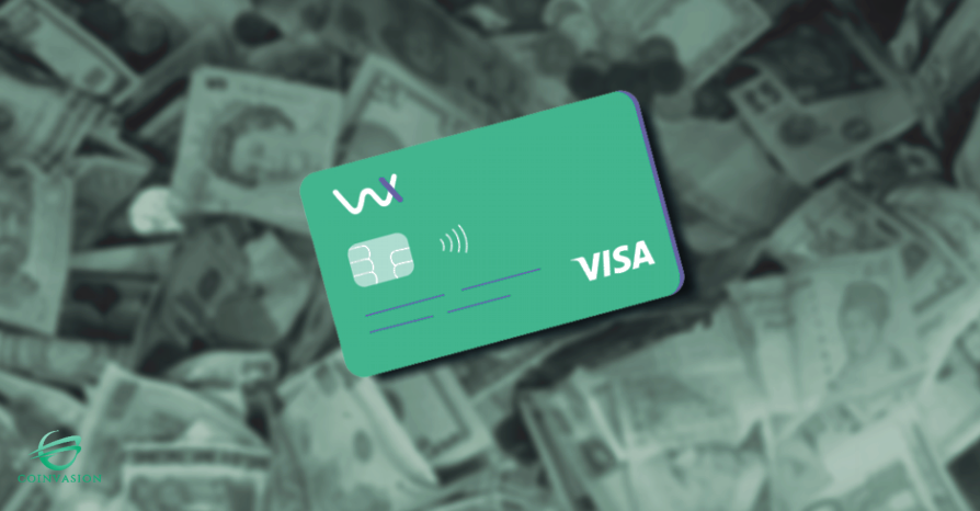 Bemutatjuk a Wirex Visa kártyáját -