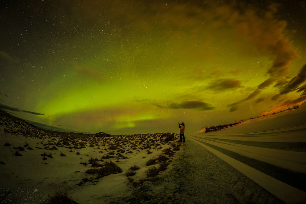 January and february is northern lights season - get out there and shoot some photos! Photo: Sylvain Cochard Photographie