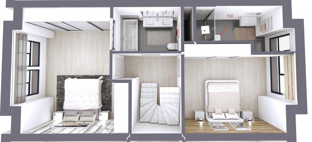 Plan des chambres