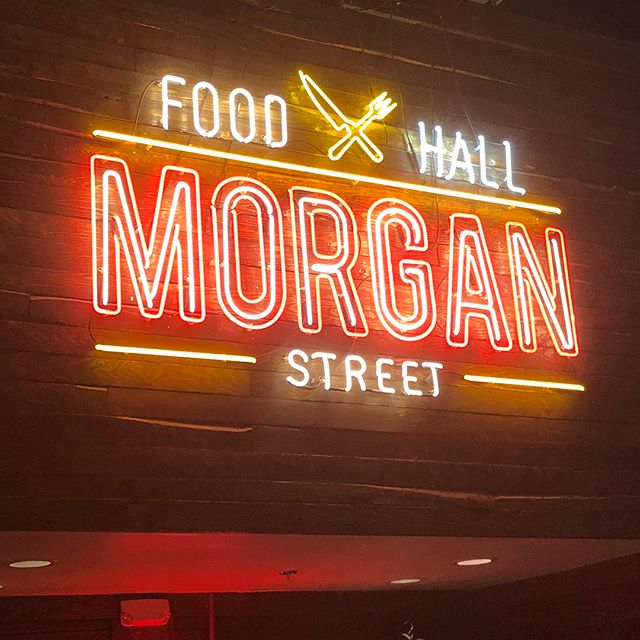 Got to check out @morganstreetfoodhall this evening with @offlineraleighdurham. Think we'll be making a return trip soon!