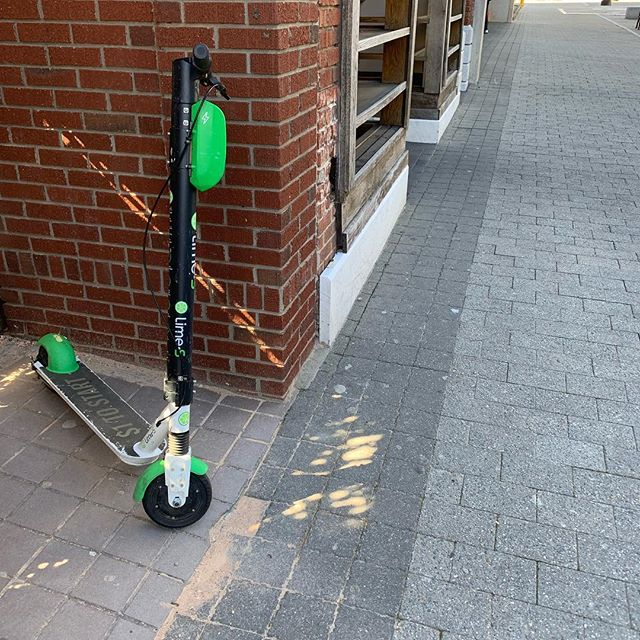 Seeing scooters parked outside of businesses and knowing that represents a customer who may not have made the trip without one. @bird & @limebike will be fine in other cities. Our homegrown small businesses will pay the price for our city council's narrow-mindedness. #ralpol