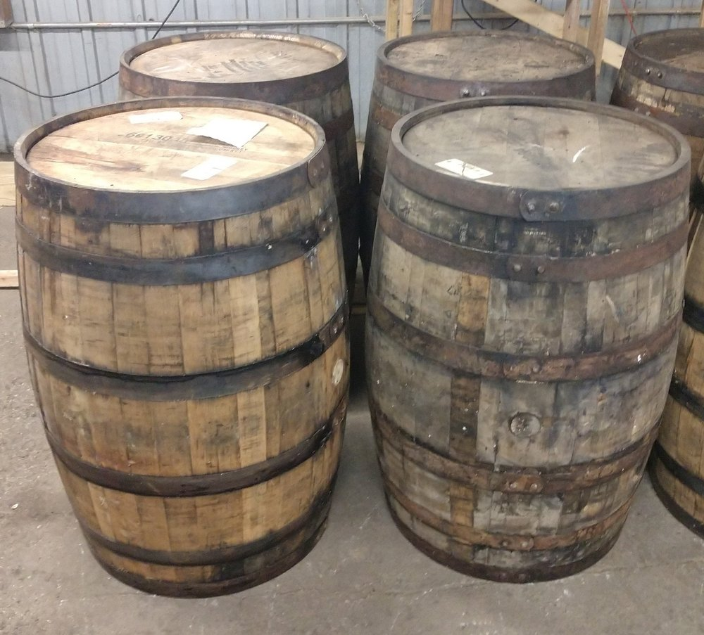 Whiskey Barrels - We offer variety of barrels. They can range from fresh from the distillery or aged and rustic. Depending on your theme or preferred choice we offer both. Please specify which type of barrels you like if you have a preference. These barrels are typically 35 inches in height.Rental Fee - $30eaInterested in purchasing this item? Follow this link to purchase instead of rent!