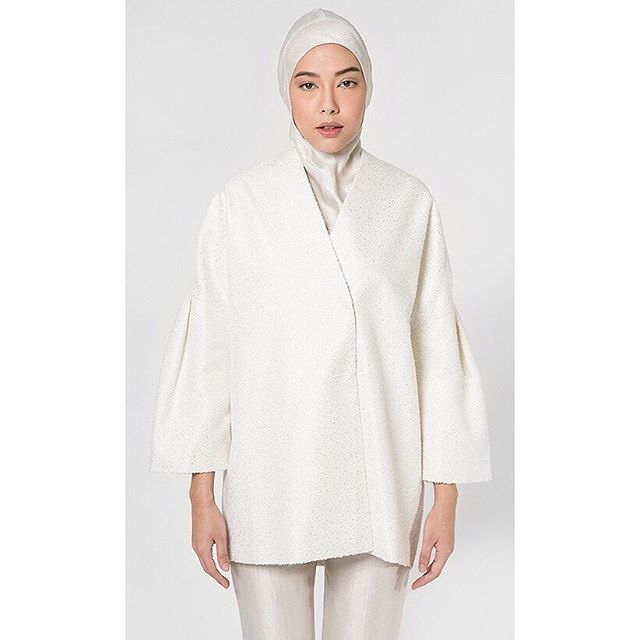 The perfect contemporary piece for your wardrobe, get the Oversized Jacket by Blancheur at www.hijup.co.uk