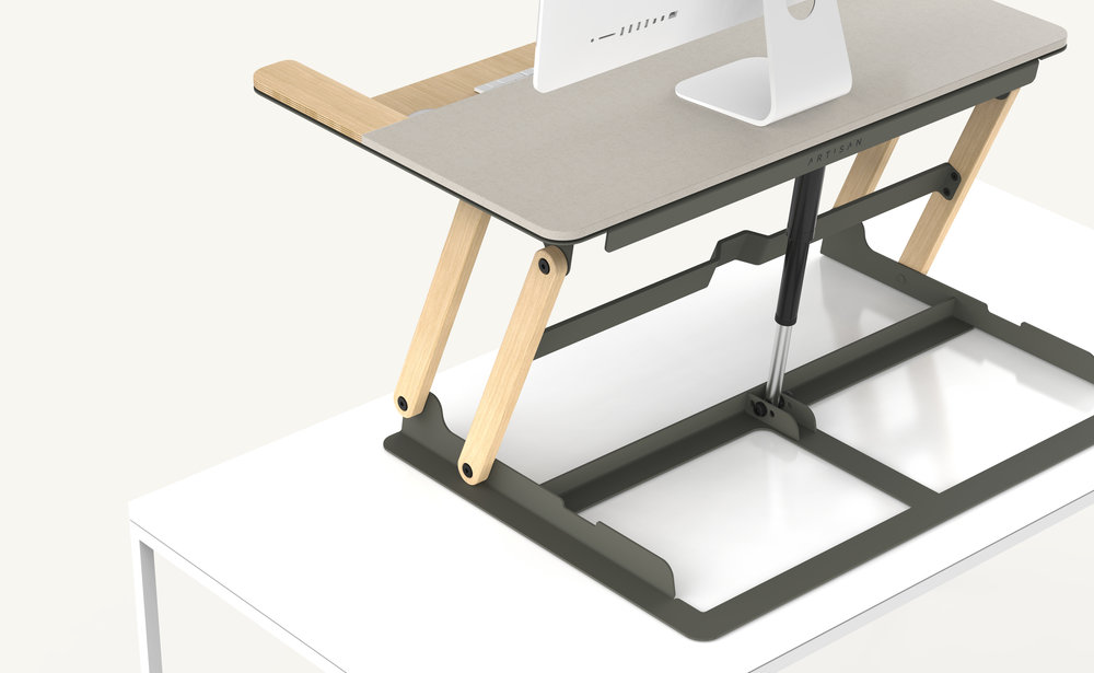 Artisan Desk Riser Design 01